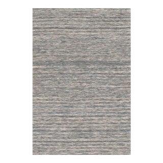 Pasargad Ny Modern Sari-Silk Flat Weave Rug - 6' X 9' For Sale