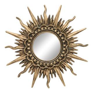 Antique French Sunburst Mirror For Sale