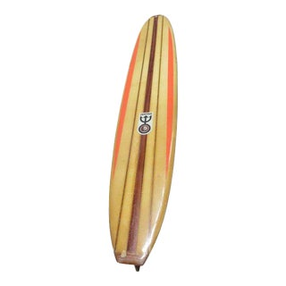 Dextra Surfboard Longboard Art 60s Final Markdown Firm For Sale