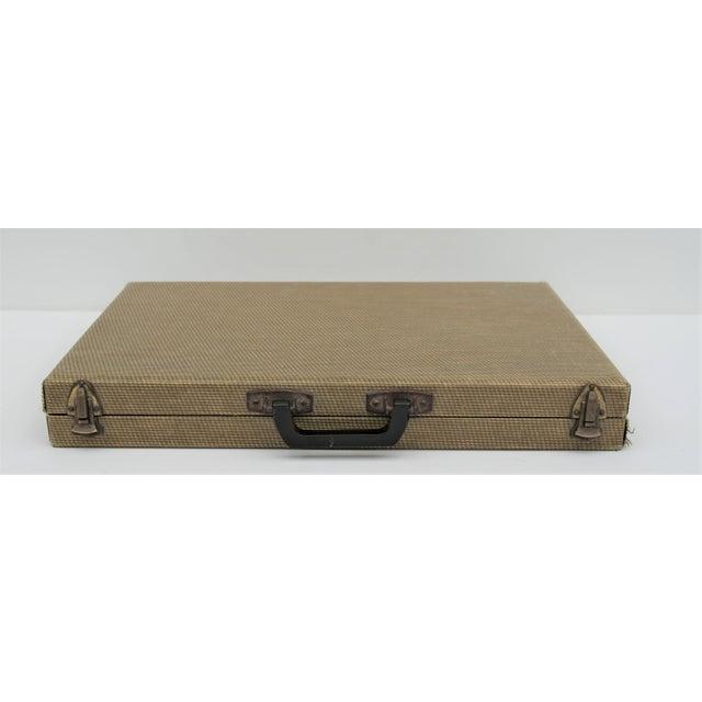 Green Vintage Backgammon Set For Sale - Image 8 of 13