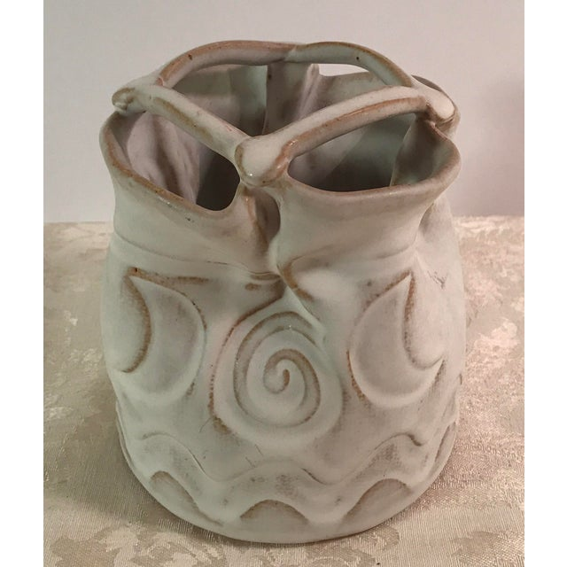 Studio Pottery Indian Planter - Image 7 of 8