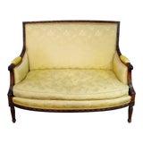 Image of Louis XVI Style Settee Attr. Maison Jansen For Sale