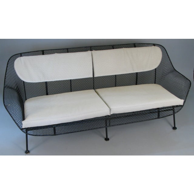 Mid-Century Modern 1950s Sculptura Sofa by Russell Woodard For Sale - Image 3 of 10