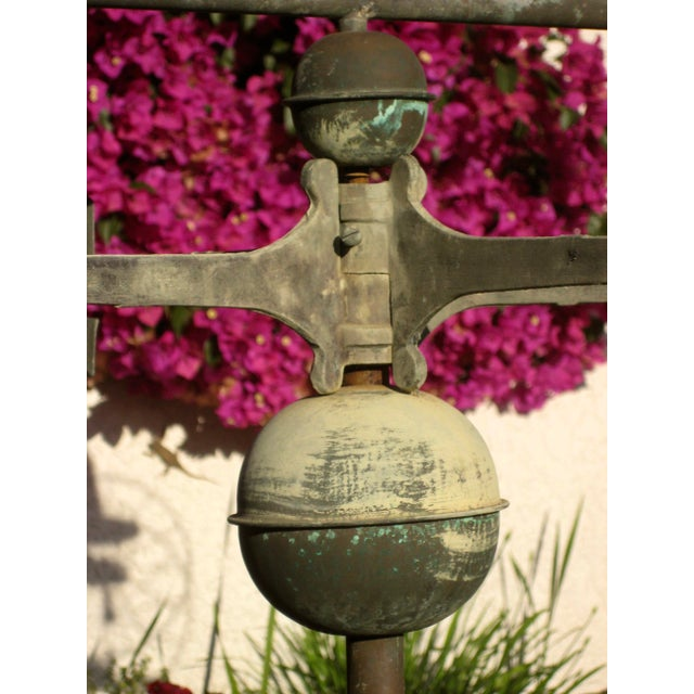 Vintage Horse and Buggy Coper Weathervane For Sale - Image 11 of 13