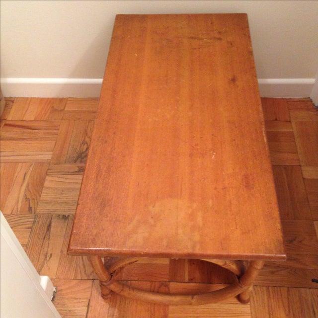 Rattan Coffee Table - Image 4 of 5