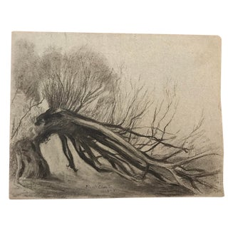 Late 19th Century Landscape Drawing by Eliot Clark