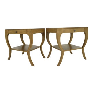 Mahogany Nightstands or Side Tables - A Pair For Sale