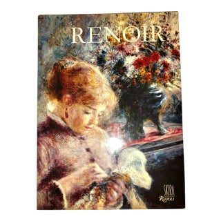 "1985 Vintage ""Renoir"" Coffee Table Book For Sale"