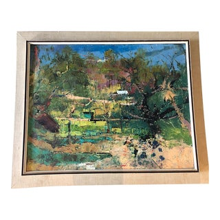 1930's Renis Zusters Oil Painting For Sale