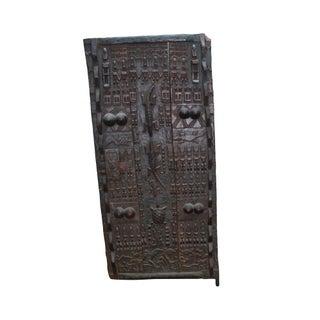 Tribal African Dogan Door