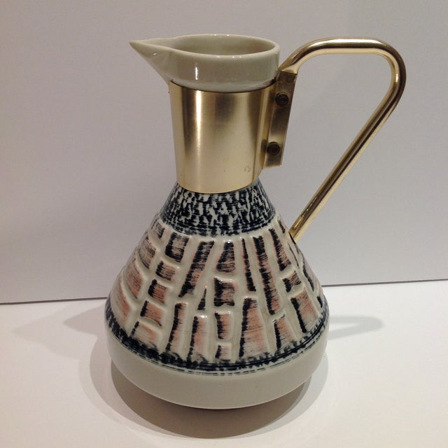 Mid-Century Pottery Pitcher - Image 2 of 7