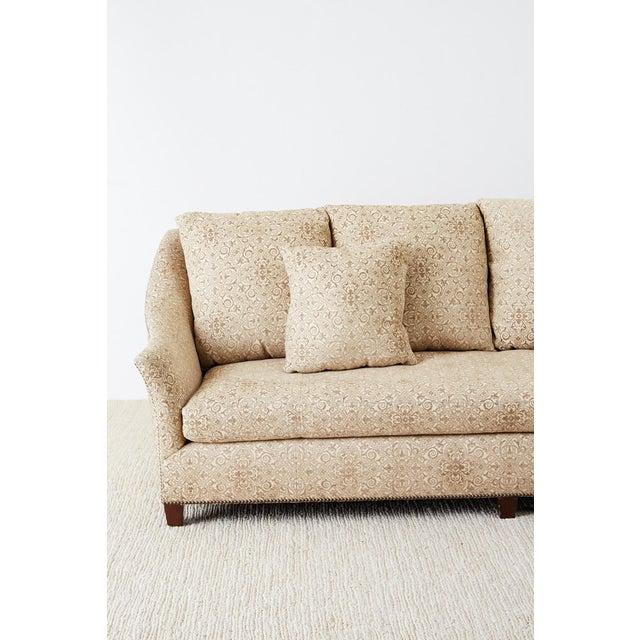 Modern Jonas New York Bruxelles Four Seat Upholstered Sofa For Sale - Image 3 of 13