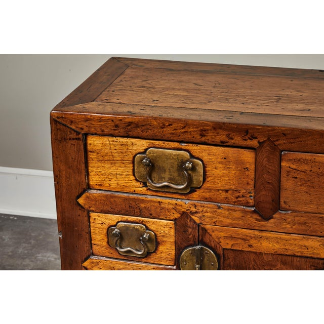 Metal 19th C. Chinese Poplar Sideboard For Sale - Image 7 of 10