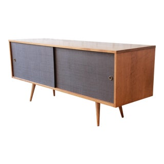 Paul McCobb Planner Group Credenza or Record Cabinet For Sale