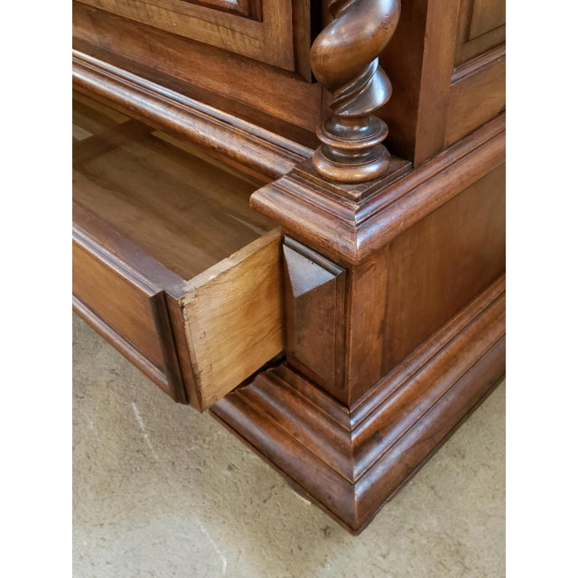 Louis XIII Period Walnut Armoire For Sale In Atlanta - Image 6 of 13