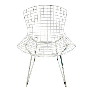 Vintage Mid Century Modern Metal Bertoia Chair For Sale