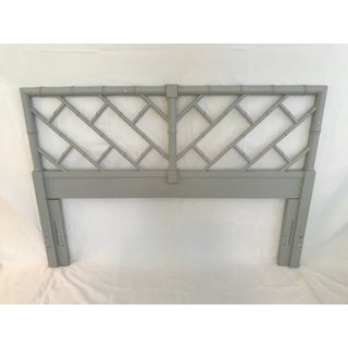Henry Link Bali Hai Chinese Chippendale Queen Fretwork Headboard Preview