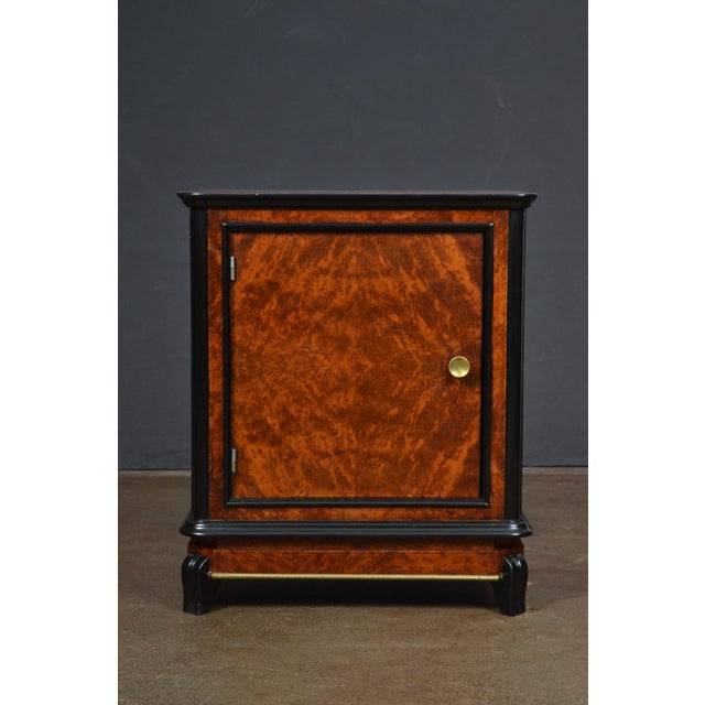 Austrian Art Deco Burled Walnut Side Tables - a Pair - Image 3 of 10