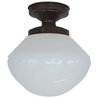 1920s School House Ceiling Light Preview