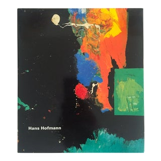 1998 Hans Hofmann 1st Edtn Abstract Expressionist Collector's Art Book For Sale