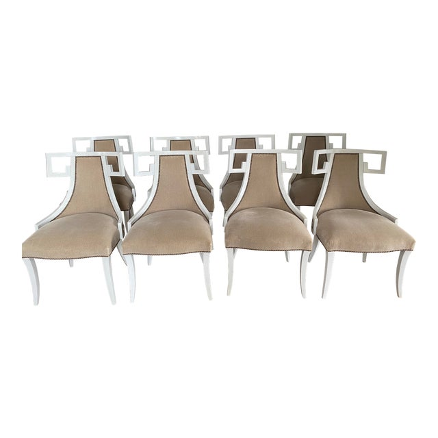 Thomas Pheasant for Baker Furniture Dining Chairs - Set of 8 For Sale