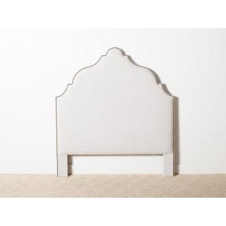 Contemporary Morocco White Queen Headboard Preview