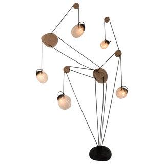 "Jérôme Pereira, ""Mechanics of Fluids"" Monumental Sculpted Lighting For Sale"