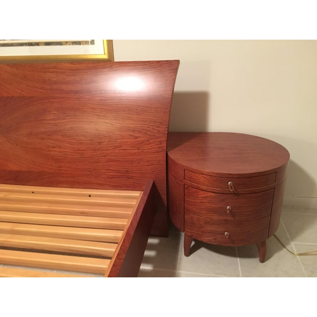 Maurice Valency King Size Bed & Two Night Stands - Image 3 of 11