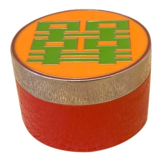 Shanghai Tang Double Happiness Enameled Box For Sale