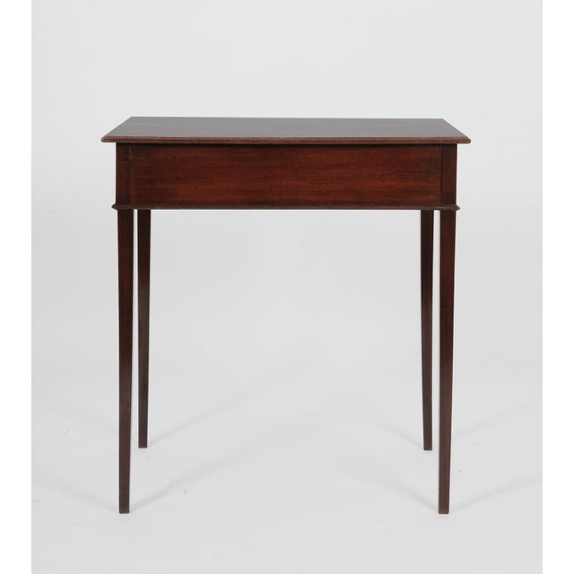 Figurative Antique English George III Mahogany Side Table For Sale - Image 3 of 8
