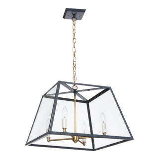 Lantern & Scroll Hampton Dunes Pendant Light, Slate Gray For Sale