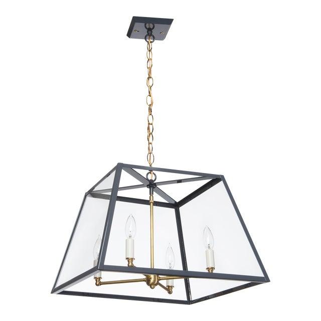 Lantern & Scroll Hampton Dunes Pendant Light, Slate Gray For Sale