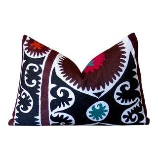 Mehreen Suzani Lumbar Pillow For Sale