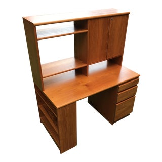 Vintage Danish Modern Secretary Desk