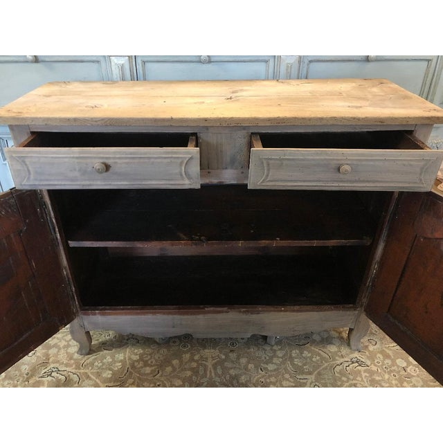 French 19th Century French Louis XV Style Sideboard For Sale - Image 3 of 9