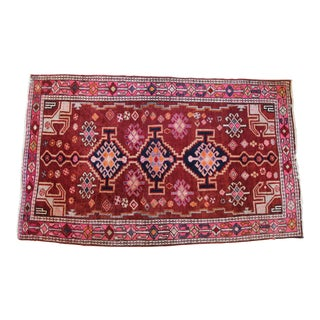 "Persian Shiraz Wool Rug- 4'7"" x 7'5"""