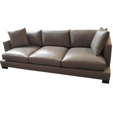 """Nathan Anthony Leather """"Super Nova"""" Sofa - Image 1 of 4"""
