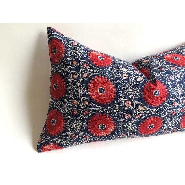 Indian Block Print Pillow - Image 5 of 6