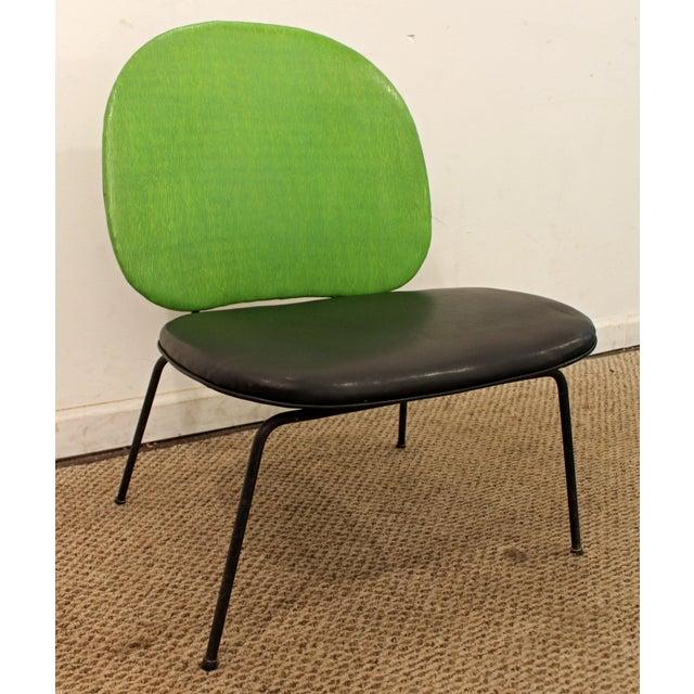 paul mccobb style mid century danish lime green side chair chairish. Black Bedroom Furniture Sets. Home Design Ideas