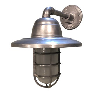 Barnlight Electric Galvanized Industrial Guard Sconce For Sale