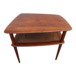 Peter Hdvit & Olga Molgaard Nielsen Side Table for France and Daverkosen For Sale
