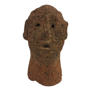 1960s Vintage Stone Relic Bust For Sale