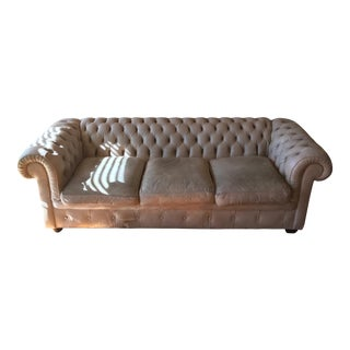 Classic Leather Brand Designer Sofa For Sale