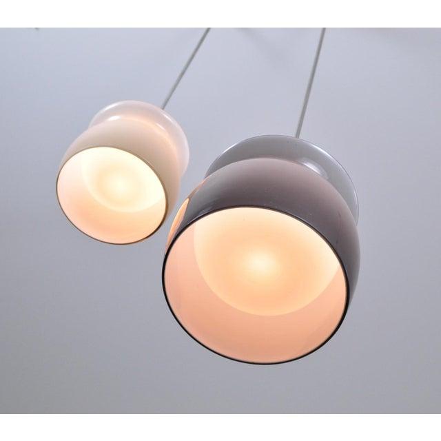 1960s Studio Venini Pivot Pendant Lamp 1960s - Large For Sale - Image 5 of 7