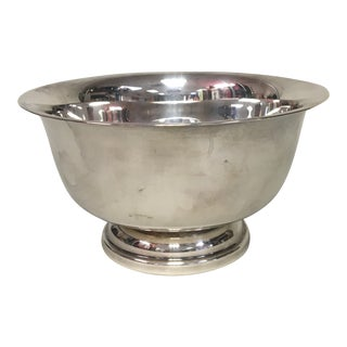 "Sheffield Silver 6"" Revere Bowl For Sale"