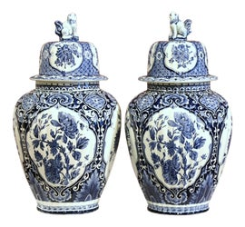 Image of Blue Ginger Jars