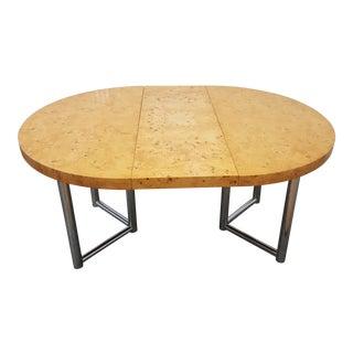Mid-Century Modern Milo Baughman Dinner Table . For Sale