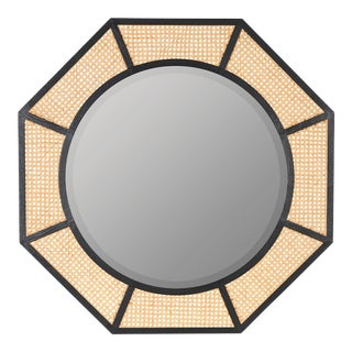 Lula Wall Mirror, Black