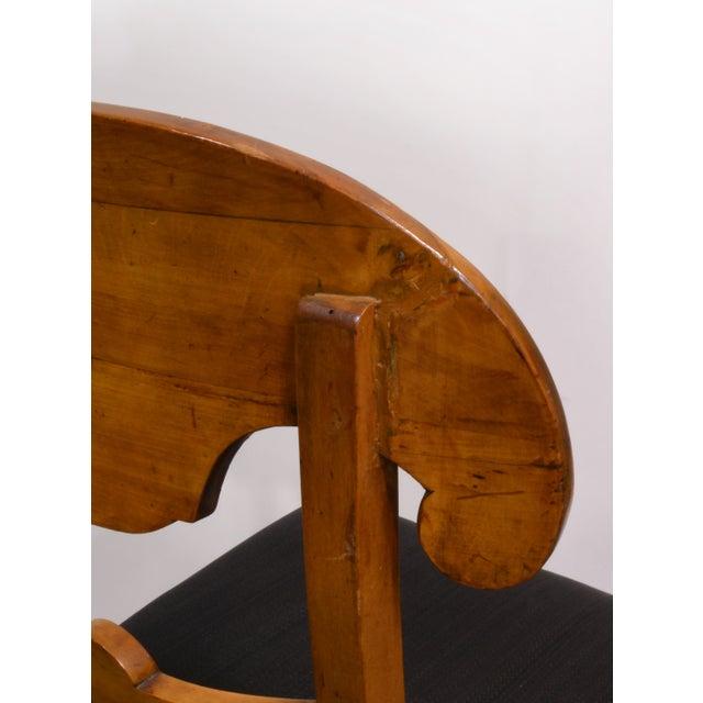 Biedermeier Dining Chairs - Set of 4 - Image 4 of 6