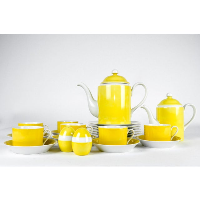 Vintage Lemon Porcelain Luncheon Service - Image 4 of 11